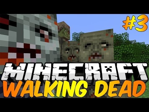 Minecraft : Walking Dead Modded Survival Episode 3 – TITANIUM SWORDS!