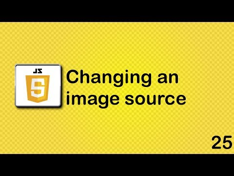 Changing an image source in Javascript