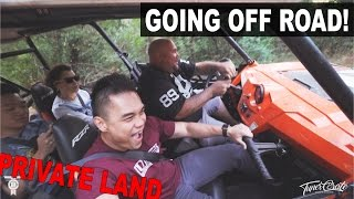 8. OFF ROAD IN A Polaris Rzr 900 4 ON PRIVATE LAND