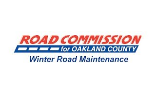 Road Commission for Oakland County Winter Road Maintenance