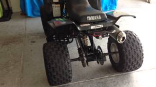 3. 2004 Yamaha Warrior 350 YFM Black