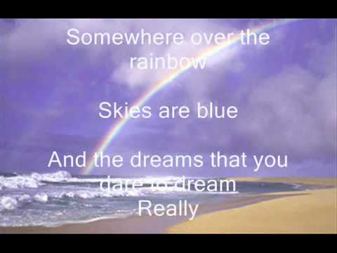 Judy Garland - Somewhere over the rainbow lyrics.mp4