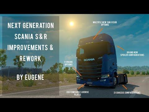 Next Generation Scania Improvements and Rework v1.0