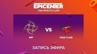 NiP vs FaZe Clan - EPICENTER 2017 EU Quals - map2 - de_nuke [Enkanis, MintGod]