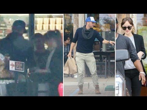 EXCLUSIVE - It's Serious! Hot Couple Dakota Johnson And Chris Martin Having Romantic Sunday