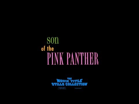 Son Of The Pink Panther (1993) Title Sequence