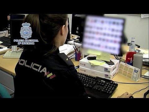 Ισπανία: Συλλήψεις 56 υπόπτων με την κατηγορία της παιδικής πορνογραφίας