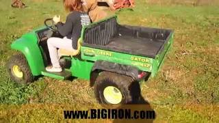 3. BIG IRON ONLINE AUCTION 12-21-2016: John Deere Gator 4x2 UTV Side by Side