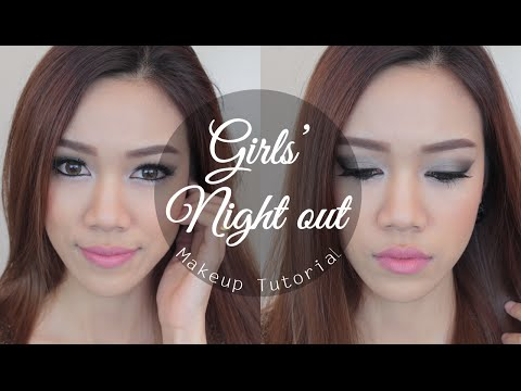 How to: แต่งหน้าไปเที่ยวกลางคืน ♡ Girls' Night out Makeup Tutorial