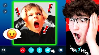 **ANGRY** Kid Turns On FACECAM When I BANNED HIM!