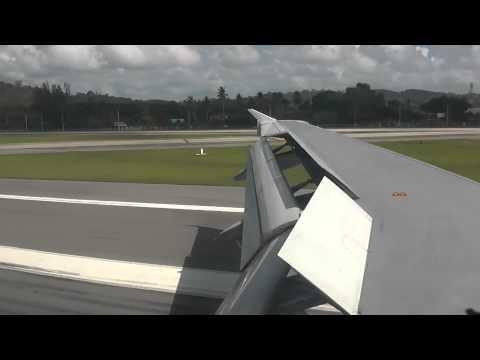 Landing in Phuket Airport