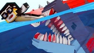Jaws Movie - Shark Attack Investigation! (Minecraft Roleplay) #2