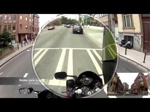 Skully Helmet – Heads-Up Display Motorcycle Helmet with GPS navigation