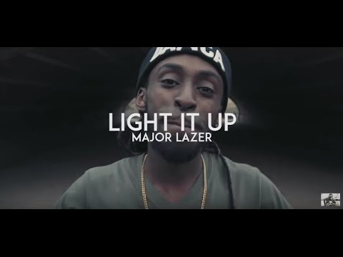 Major Lazer - 'Light It Up' Dancehall Choreography - Danca® Family