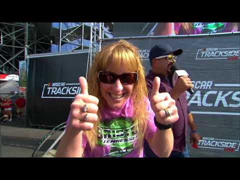 Trackside Live Bristol replay: Brad Keselowski, Ryan Blaney join the fun
