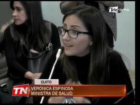 Ministra de salud desvirtuó denuncias sobre uso de insumos médicos