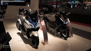 6. New 2015 Honda Forza 125 at EICMA 2014