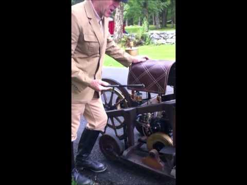 1885 Daimler Reitwagen Motorcycle