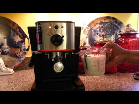 How to use the Melitta espresso machine