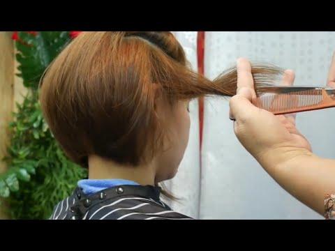 Hair cutting - Bob hair cut style Korea 6  ตัดผมบ๊อบ สไตล์เกาหลี
