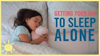 Cara Mudah Mengajarkan Anak Tidur Sendiri di Kamarnya