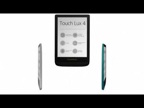 PocketBook Touch Lux 4 - комфорт при четене през цялото денонощие