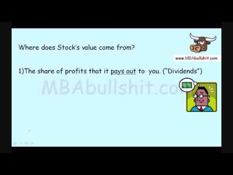 Stock Valuation Tutorial in 3 Easy Steps: Stock Value, Valuing Stocks, Finance Stock Valuation