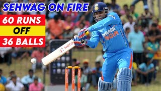 Video Virender Sehwag 60 off 36 Balls - Asia Cup 2008 Final | Insane BRUTAL ASSAULT on Every Bowler!! MP3, 3GP, MP4, WEBM, AVI, FLV Desember 2018