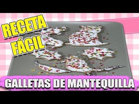 Decorados de uñas - Como hacer GALLETAS de MANTEQUILLA caseras FAMILY VLOGS