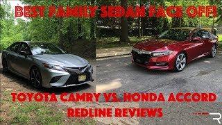 Video 2018 Honda Accord Vs Toyota Camry – Redline: Comparison Test MP3, 3GP, MP4, WEBM, AVI, FLV November 2018