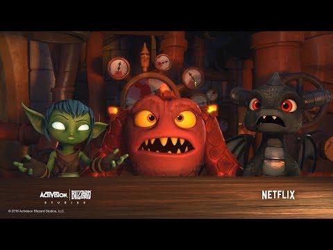 Official Season 3 Trailer | Skylanders Academy | Skylanders (видео)