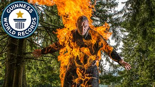 Video Human torch breaks three world records - Meet the Record Breakers MP3, 3GP, MP4, WEBM, AVI, FLV September 2017
