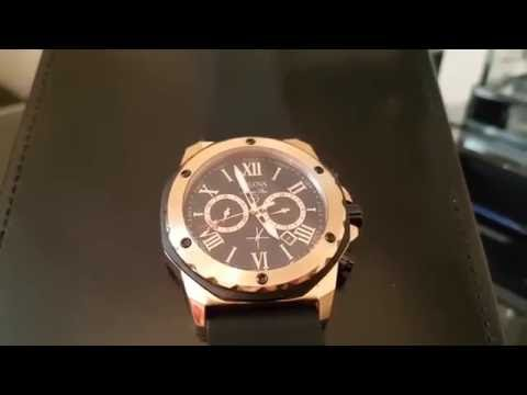 , title : 'Bulova Marine Star  watch - stunning in Rose Gold'