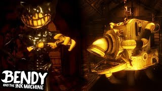 *NEW* HIDDEN INK MACHINE ROOM FOUND + DEMON BENDY! || Bendy and the Ink Machine CHAPTER 3 REMASTERED