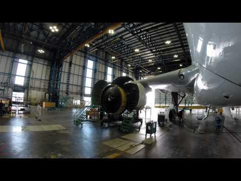 Aircraft Engine Change