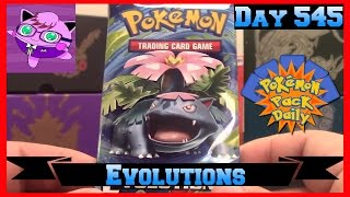 Pokemon Pack Daily Evolutions Booster Opening Day 545 - Featuring Master Jigglypuff and Friends by ThePokeCapital