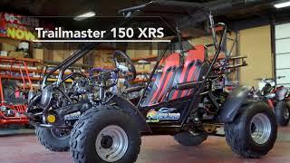 1. TrailMaster 150 XRS Go-kart