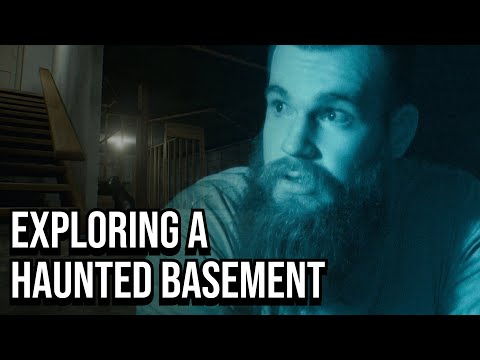 Exploring A 200 Year Old Haunted Basement