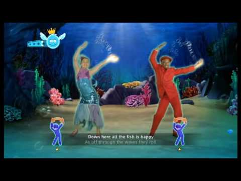 Just Dance Disney Party Under The Sea