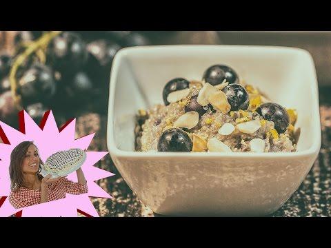 ricette vegan - porridge di quinoa