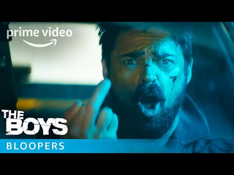 The Boys Show Super Hero Bloopers | Prime Video