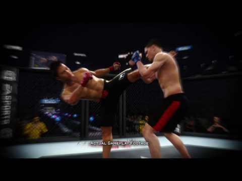 Nick Diaz Cung Le in New Ea Sports MMA Video Game Trailer