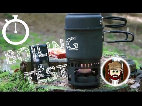 Esbit KOCHER TEST boil test BUSHCRAFT