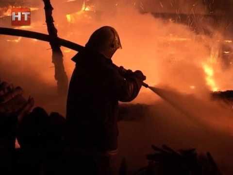 В Новгородской области увеличилось количество пожаров