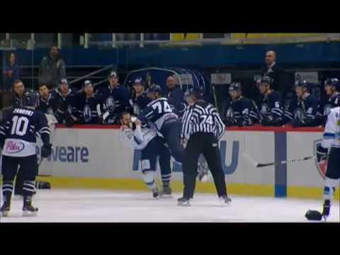 Бой КХЛ: Перкович VS Рыспаев / KHL Fight: Perkovich VS Ryspayev (видео)