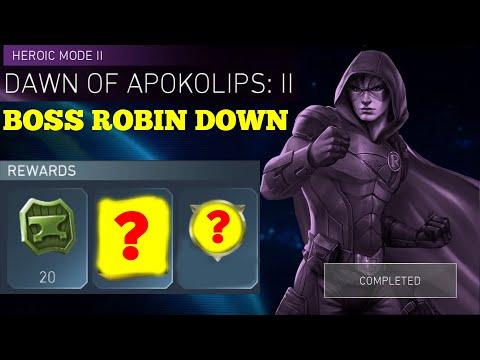 Crap Rewards Again? Boss Robin Down H2 Solo Raids Injustice 2 Mobile