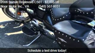 9. 2006 Suzuki Boulevard C50T Cruiser for sale in Fredricksburg