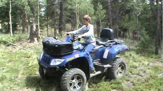 1. Day 2 Test of Arctic Cat TRV 550S