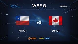 Luker vs athan, game 1