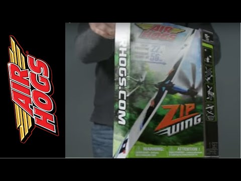 Tip 1-How to Build and Fly the Air Hogs Zipwing